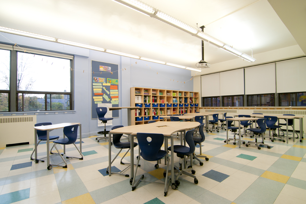 Modern Classroom Facilities ~ Akiva elementary jewish school new classroom design to