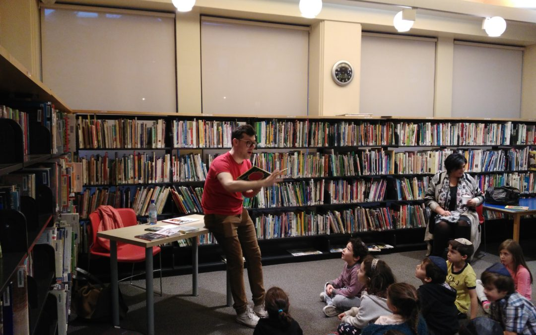 Visit from renowned Quebec French author Simon Boulerice