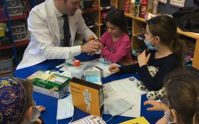 Annual Akiva Kindergarten Teddy Bear Clinic