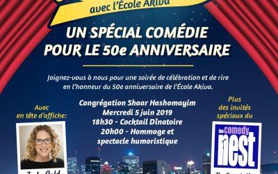Un spécial comédie pour le 50e anniversaire