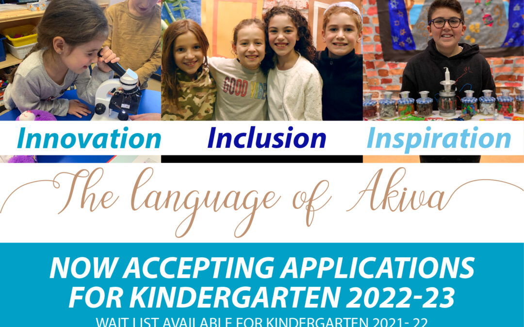 Apply Now for Kindergarten 2022