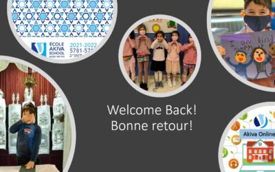 Welcome Back to School 2021-22